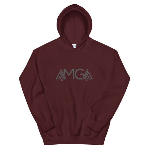 Image of AMGA Athletic Double Lined Unisex Hoodie - AMGA FIT