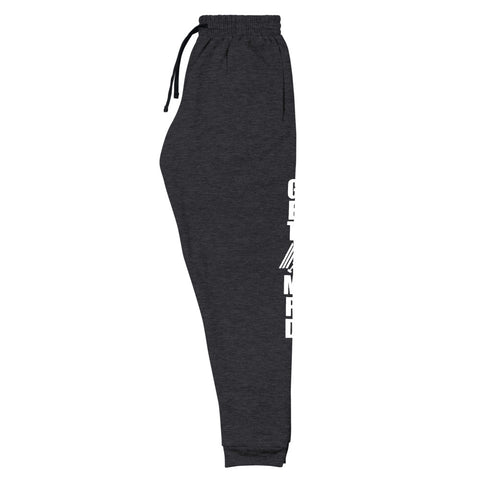 Image of Get Amp'd Fleece Low Rise Tapered Unisex Joggers Sweatpants - AMGA FIT