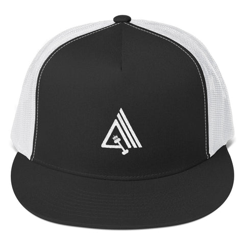 Image of Amp'd High Profile Snapback Trucker Cap - AMGA FIT