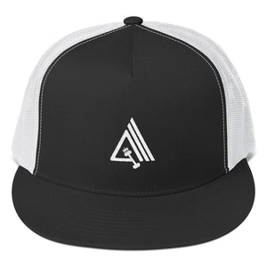 Amp'd High Profile Snapback Trucker Cap - AMGA FIT