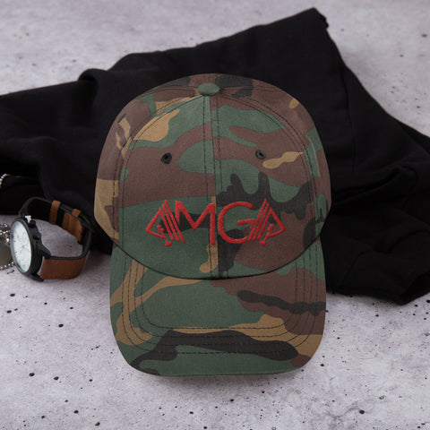 Image of AMGA Low Profile Adjustable Dad Hat - AMGA FIT