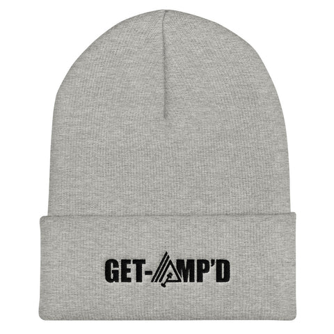 Get Amp'd Unisex Cuffed Beanie Hat - AMGA FIT