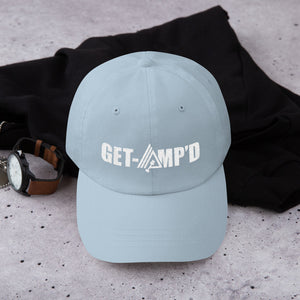 Get Amp'd Low Profile Adjustable Dad Hat - AMGA FIT