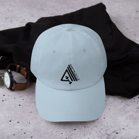 Image of AmpMuscle Low Profile Adjustable Dad Hat - AMGA FIT