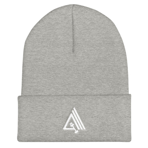 Image of Amp'd Unisex Cuffed Beanie Hat - AMGA FIT