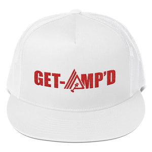 Get Amp'd High Profile Snapback Trucker Cap - AMGA FIT
