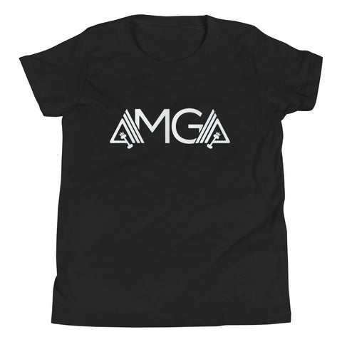 AMGA Unisex Youth Relaxed Fit Short Sleeve Jersey T-Shirt - AMGA FIT