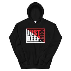Just Keep Going Athletic Double Lined Unisex Hoodie - AMGA FIT