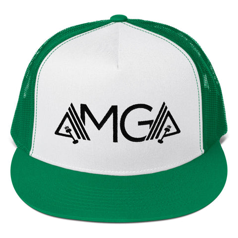 Image of AMGA High Profile Snapback Trucker Cap - AMGA FIT