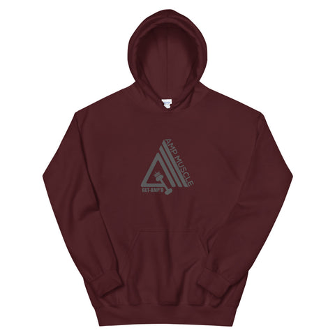 Image of AmpMuscle Athletic Double Lined Unisex Hoodie - AMGA FIT