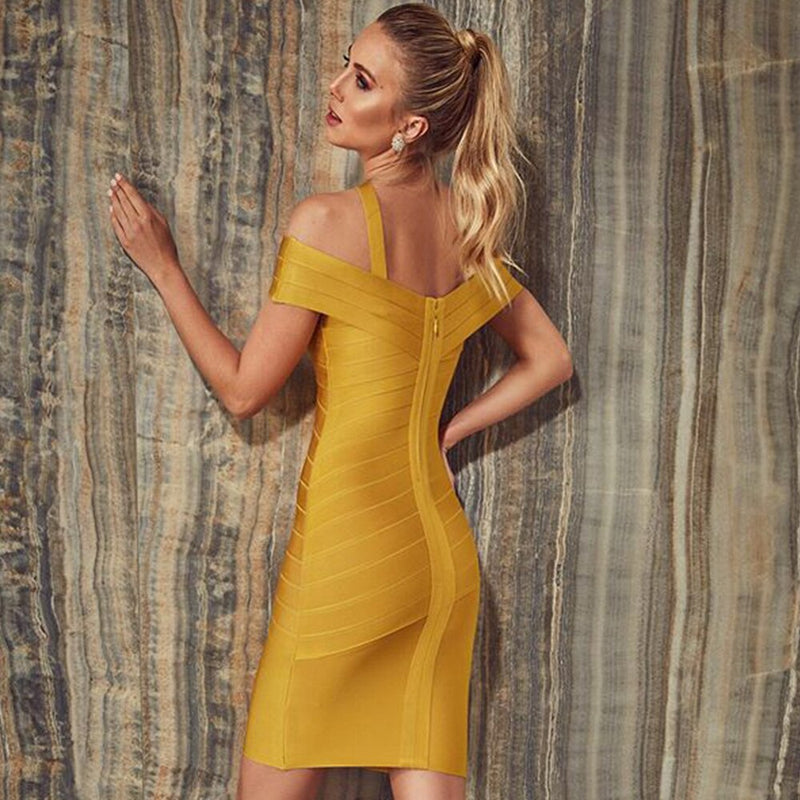 Annika Bandage Dress