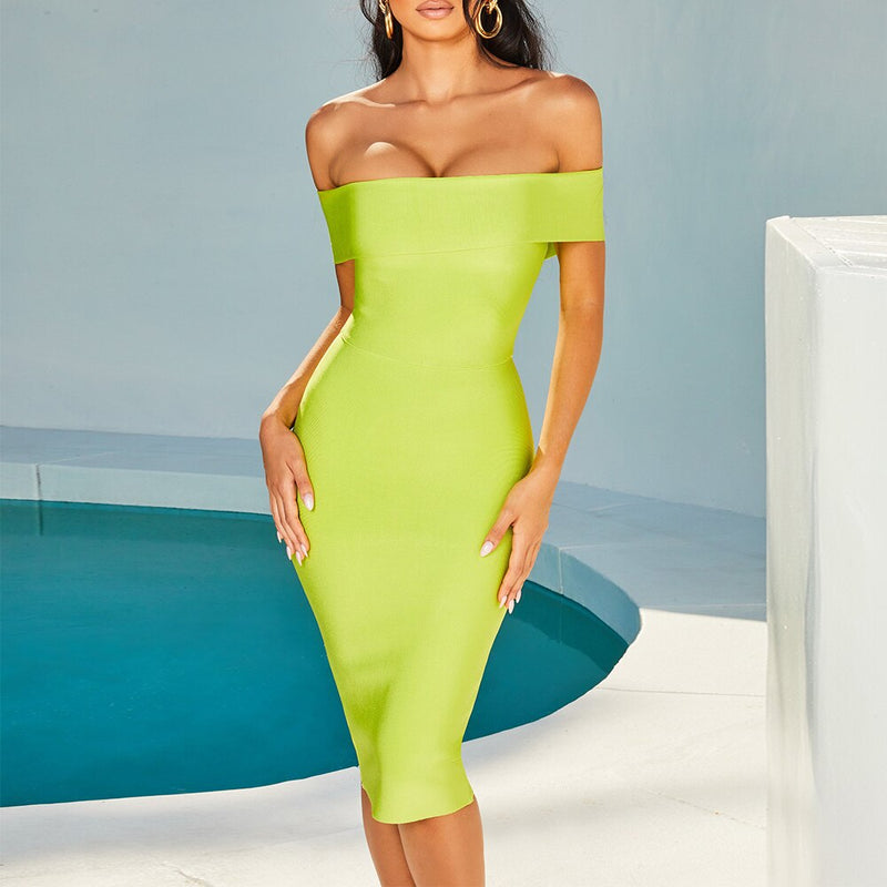 Bright Lights Bandage Dress