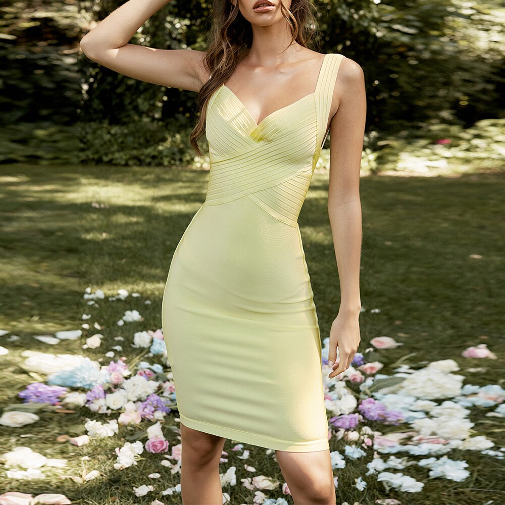 Sweet Attitude Bandage Dress