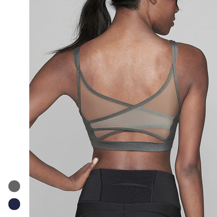 Mesh Back Active Bra