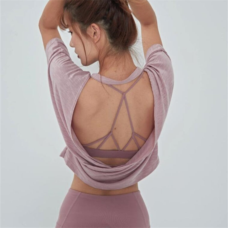 Saint Open Back Active Top