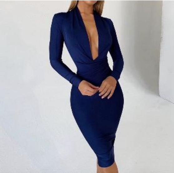 Defiant Deep Bandage Dress