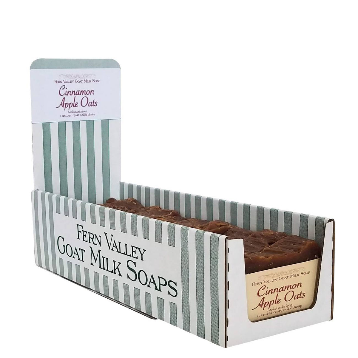 Fern Valley Soap Sleeve Box Display
