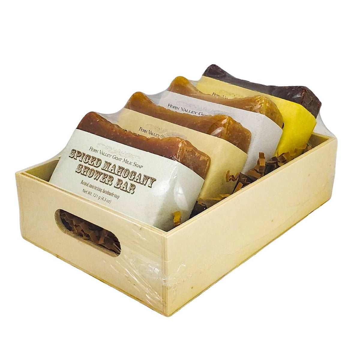 Gift Crate Assortment of Shower Bars for Men