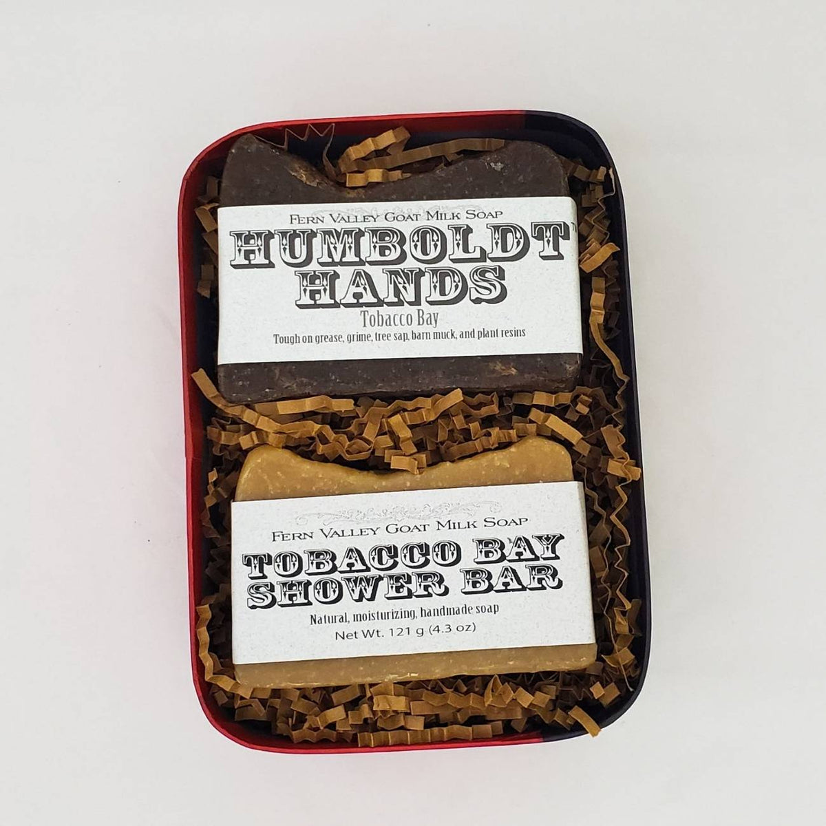 Gift Box for Guys | Novelty Container | Humboldt Hands Soap