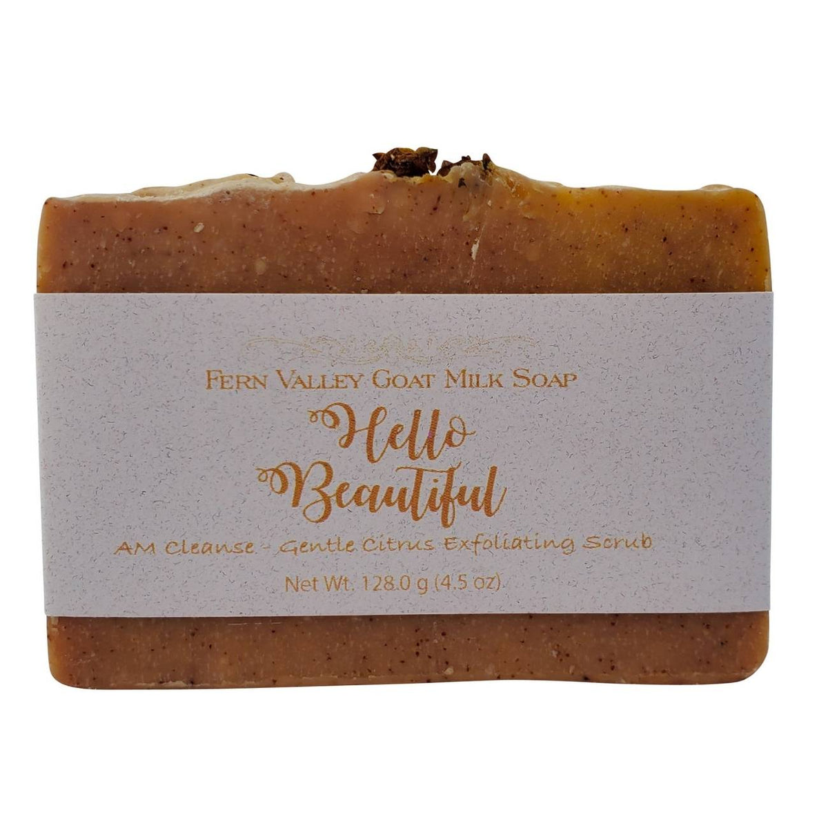 Hello Beautiful AM Cleanse - Gentle Citrus Exfoliating Scrub
