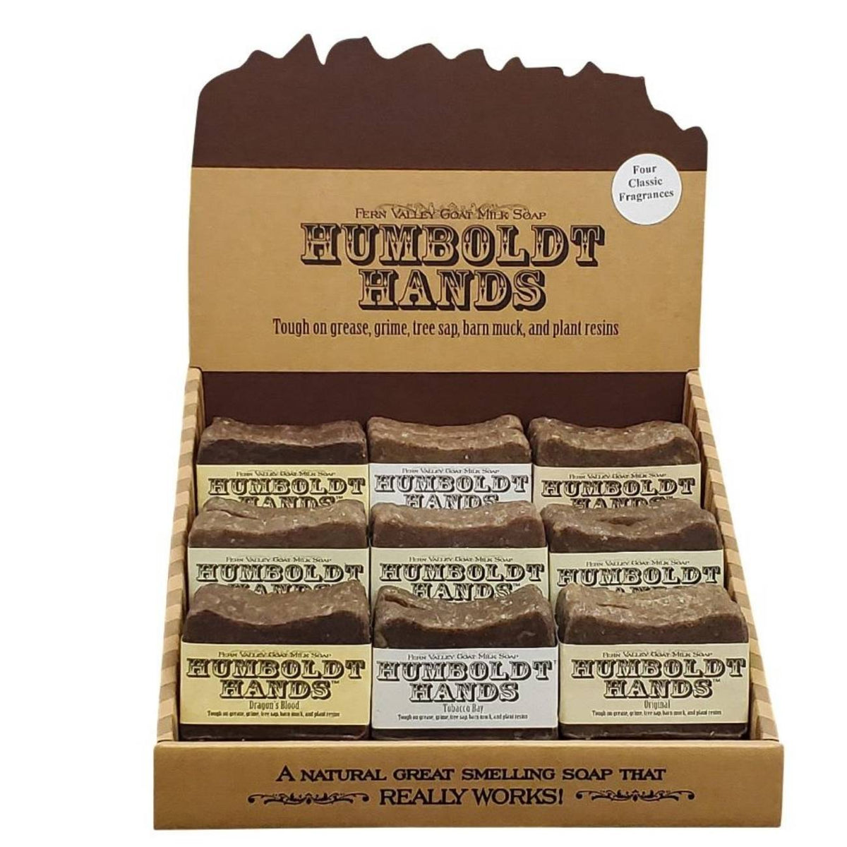 Humboldt Hands 36 Bar Display Box