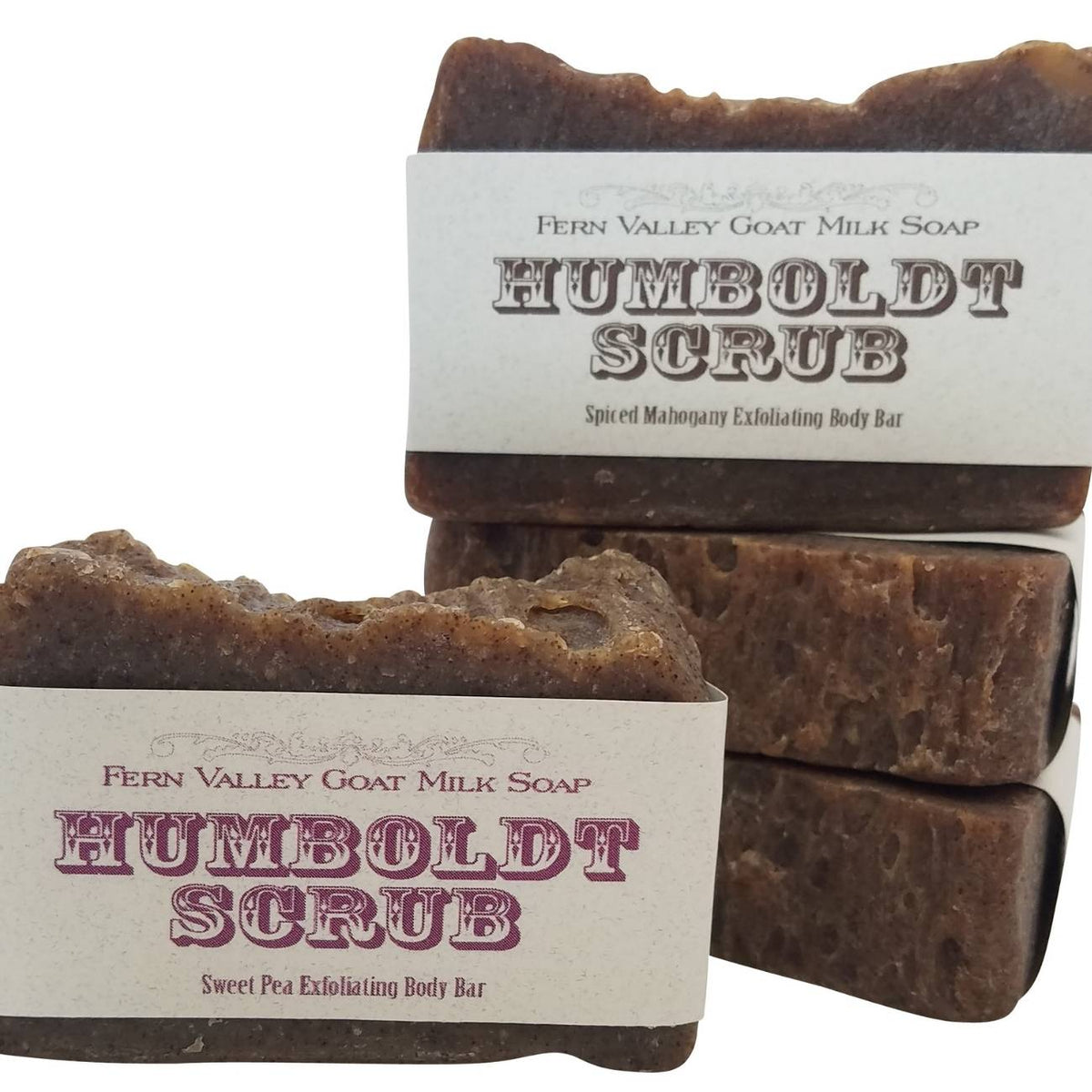 Humboldt Scrub Exfoliating Body Bar