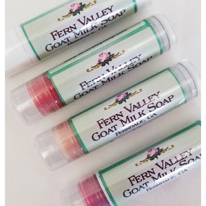 Natural Handmade Lip Balm 5 Fun Flavors-Body Product-Fern Valley Soap