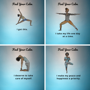 Find Your Calm Affirmation Cards (Digital)