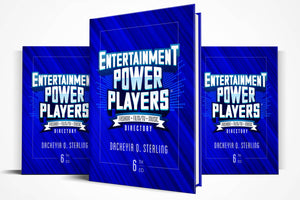 Entertainment Power Players®: Edition 6 | Hardcover Directory