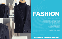 Entertainment Power Players®: Edition 6 - Fashion Section