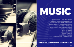 Entertainment Power Players®: Edition 6 - Music Section
