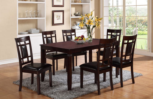 CMK 2325 7 Piece Dining Table
