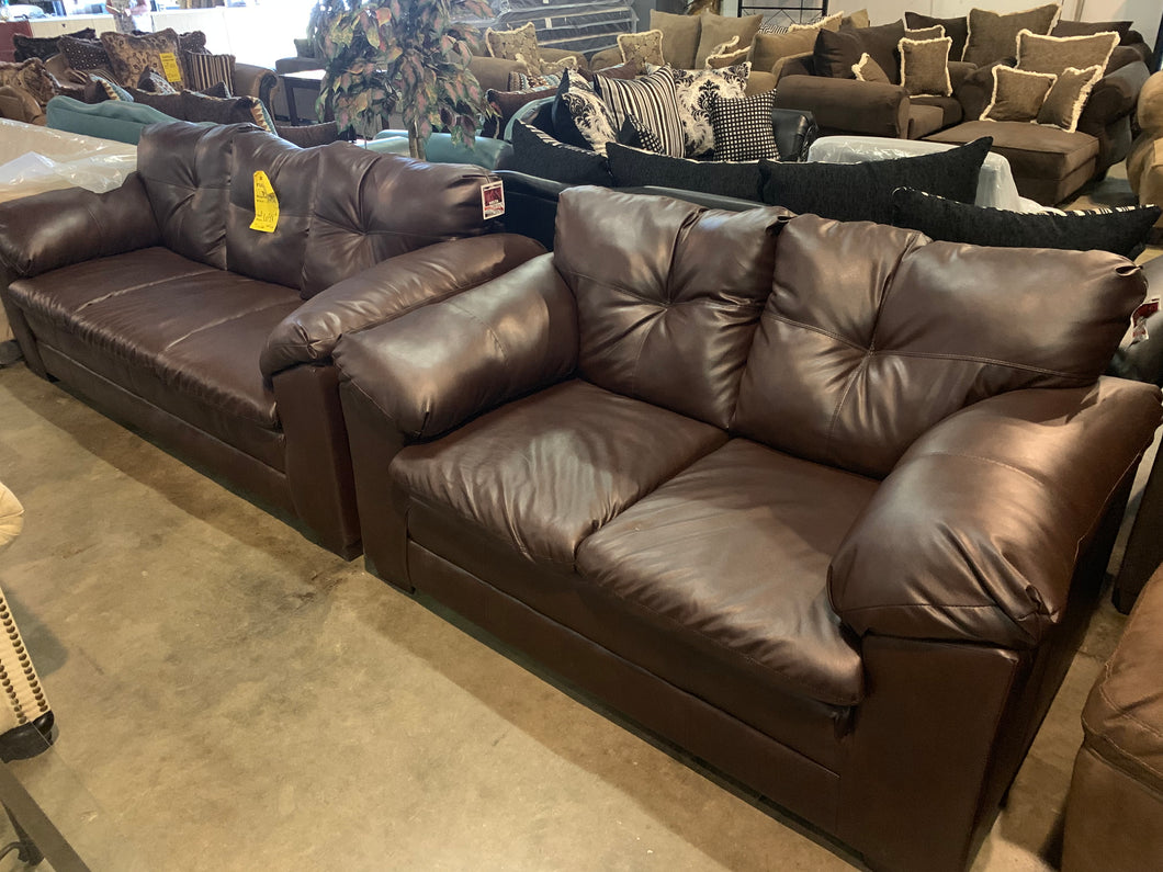 Trinidad Brown Sofa Set