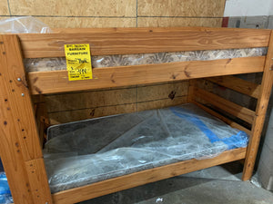 #8545 Stackable Solid Wood Bunkbeds (incl. mattresses)