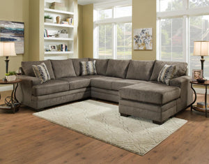Delta Gray Sectional