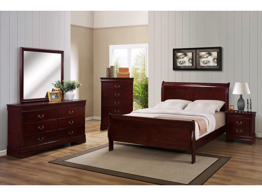 B3800 Cherry Bedroom Set