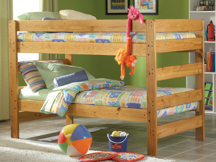 #5600 Solid Wood Twin/Twin Bunkbed