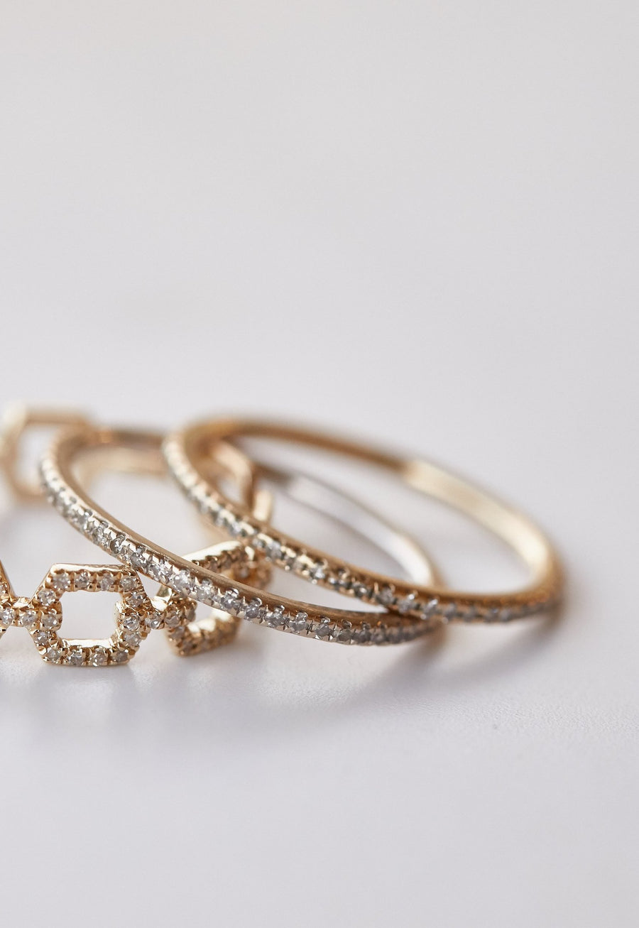 Eternity Stack Ring - Embody Los Angeles