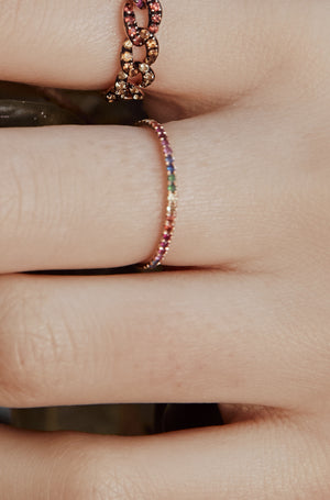 Over the Rainbow Stack Ring - Embody Los Angeles
