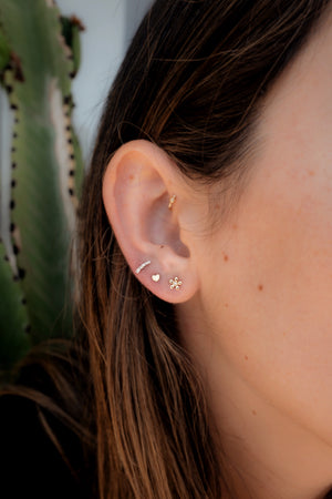 I Heart You Stud Earrings - Embody Los Angeles