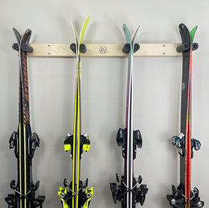 SKI RACK - VERTICAL WALL MOUNT
