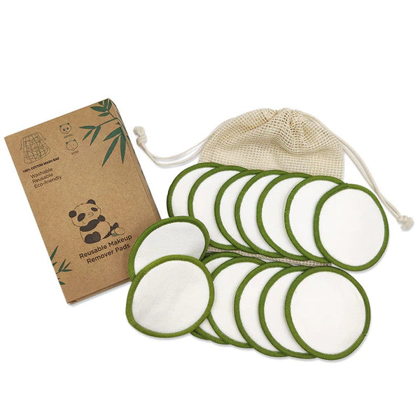 Reusable Makeup Remover Pads - 16 Set