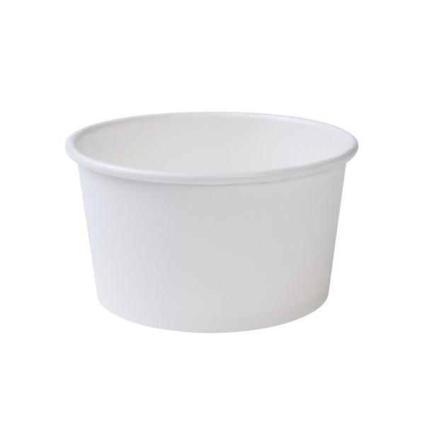 White universal cups, 300ml / 12oz (500 pcs.) - Naturally Chic Eco-Friendly Packaging Canada