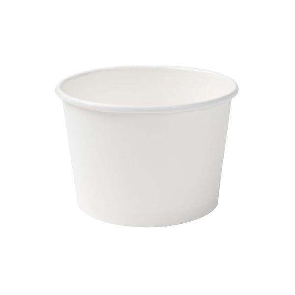 White universal cups, 400ml / 16oz (500 pcs.) - Naturally Chic Eco-Friendly Packaging Canada