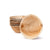 "Round palm leaf bowls, 275 ml (320 ml max.) / 10oz / 5"" dia. (200 pcs.)"