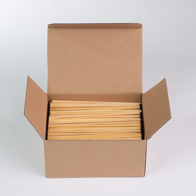 "Biodegradable Raw Straws, 145mm / 5.75"" (10,000 pcs.)"