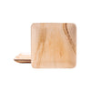 "Square palm leaf plates, 23 x 23cm / 9"" (200 pcs.) - Naturally Chic Eco-Friendly Packaging Canada"