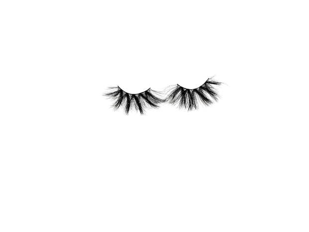 Eyelashes , like real mink 5D 20-30 uses , 25mm vegan cruelty free