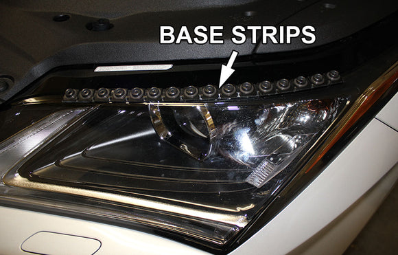 SNAP-ON CarLashes® BASE STRIPS