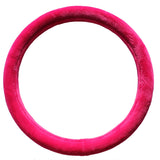 Steering Wheel Cover: PINK PLUSH